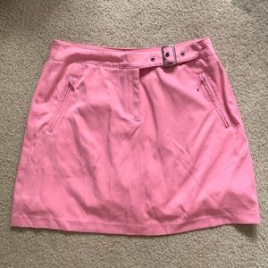 Pink mini skirt (very y2k)